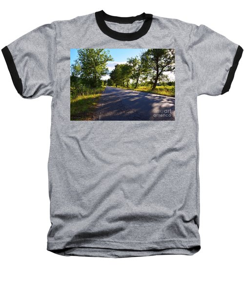 Baseball T-Shirt featuring the photograph Paradise Road by Ramona Matei