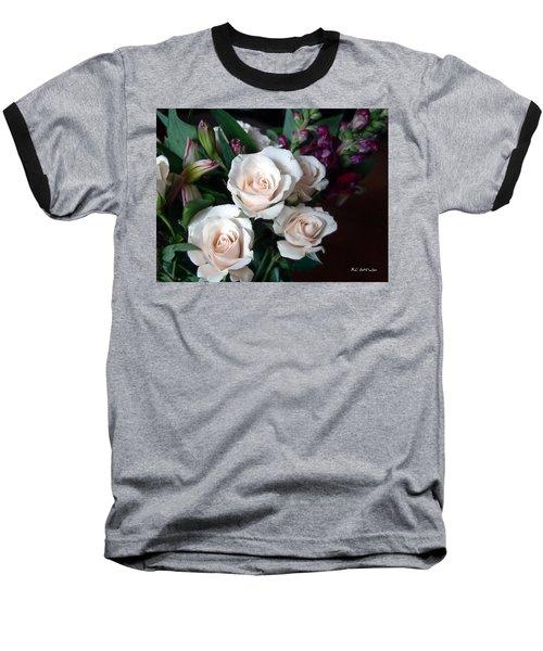Baseball T-Shirt featuring the photograph Pardon My Blush by RC deWinter