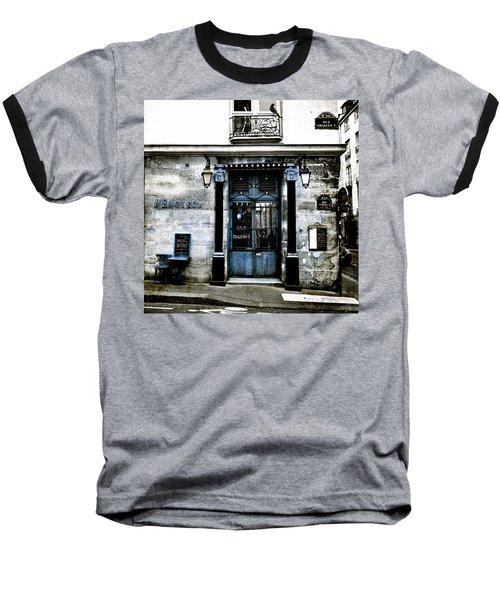 Paris Blues Baseball T-Shirt