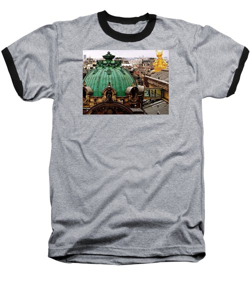 Paris Drizzles Baseball T-Shirt