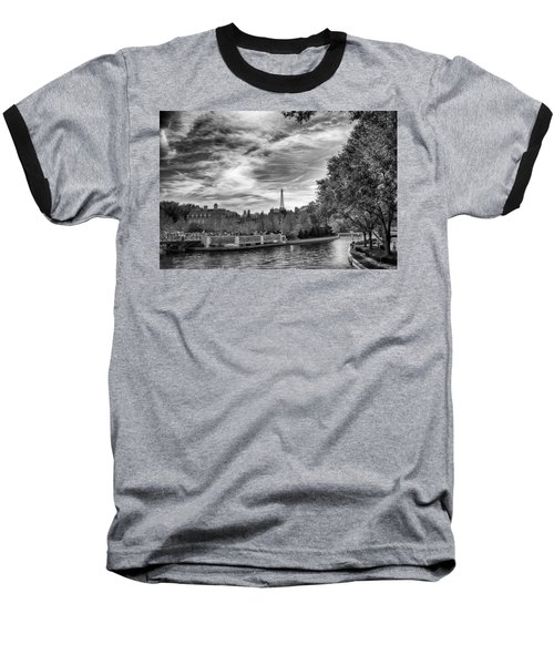 Baseball T-Shirt featuring the photograph Paris by Howard Salmon