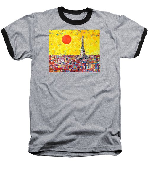 Paris In Sunlight Baseball T-Shirt