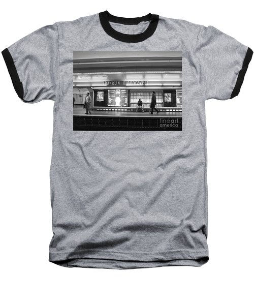 Paris Metro - Franklin Roosevelt Station Baseball T-Shirt