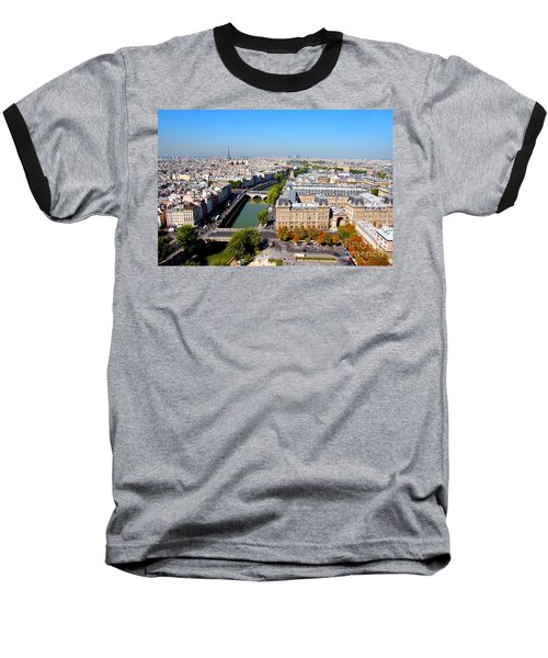 Paris Baseball T-Shirt