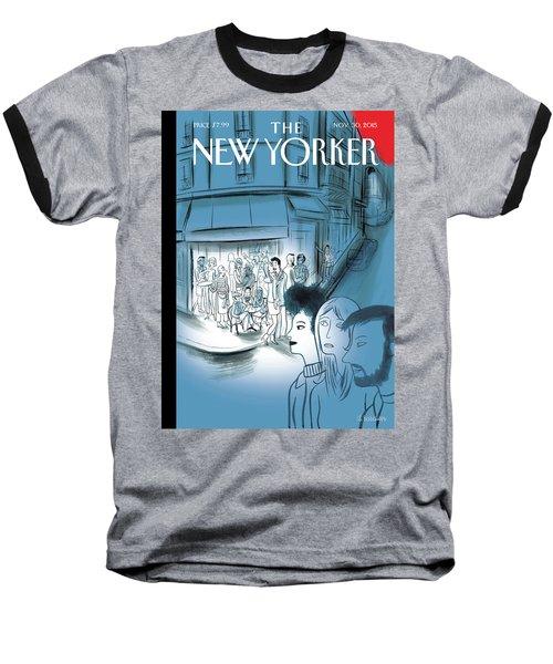 Paris, November 2015 Baseball T-Shirt