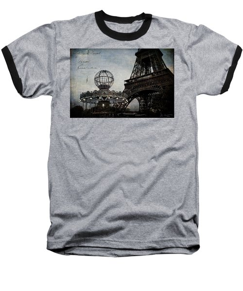 Paris One More Ride Baseball T-Shirt
