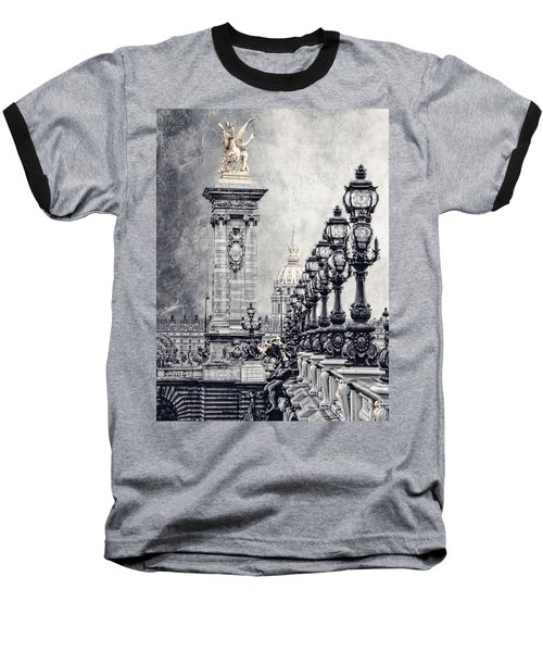 Paris Pompous 2 Baseball T-Shirt by Joachim G Pinkawa