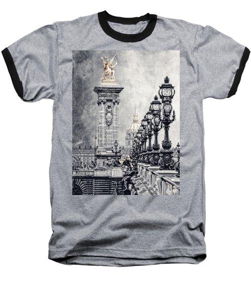Paris Pompous 2 Baseball T-Shirt