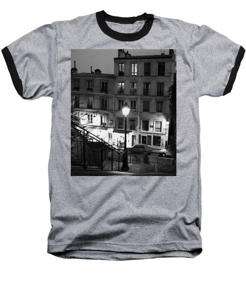 Paris-steps-montmartre Baseball T-Shirt