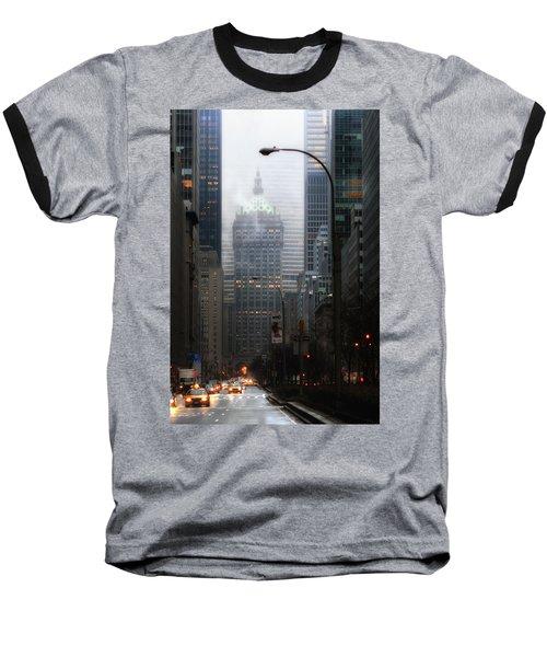 Park Avenue Dawn In Color Baseball T-Shirt