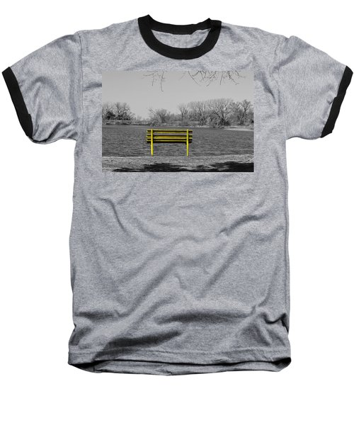 Park Bench Baseball T-Shirt