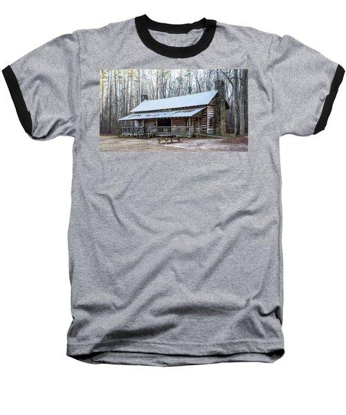 Park Ranger Cabin Baseball T-Shirt
