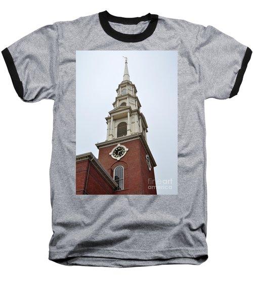Park Street Church Boston Baseball T-Shirt
