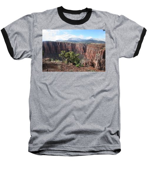 Baseball T-Shirt featuring the photograph Parker Canyon In The Sierra Ancha Arizona by Tom Janca