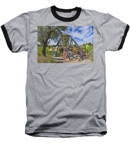 Baseball T-Shirt featuring the photograph Parkville Missouri by Liane Wright