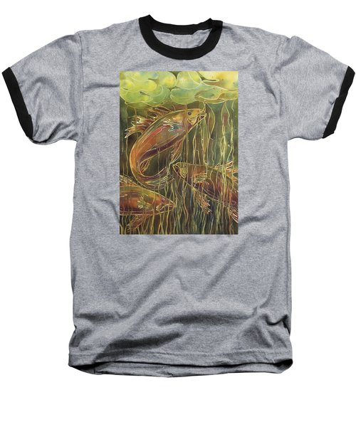Party Under The Lily Pads II Baseball T-Shirt