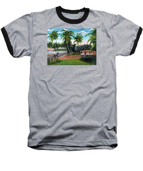 Paseo Por La Isla Baseball T-Shirt by Luis F Rodriguez