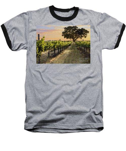 Paso Vineyard  Baseball T-Shirt