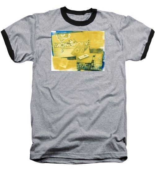 Pass Go Baseball T-Shirt by Caitlyn  Grasso