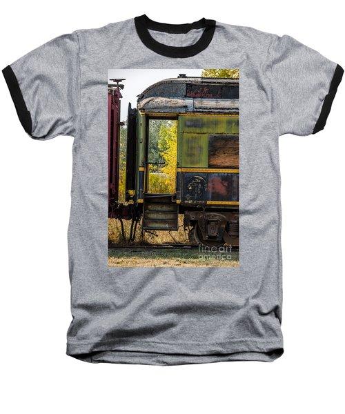 Passenger Car Entrance Baseball T-Shirt