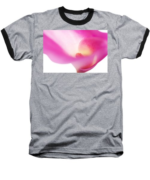 Passion For Flowers. Pink Veil Baseball T-Shirt