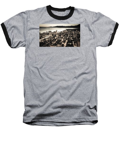 Baseball T-Shirt featuring the photograph Passionate English Bay. Mccclxxviii By Amyn Nasser by Amyn Nasser