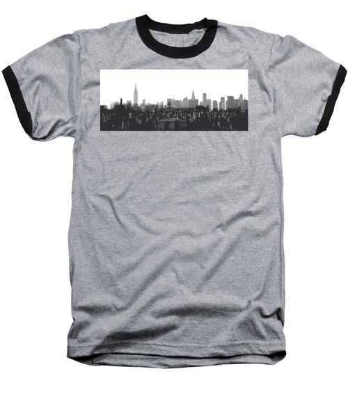 Past Present Future Baseball T-Shirt