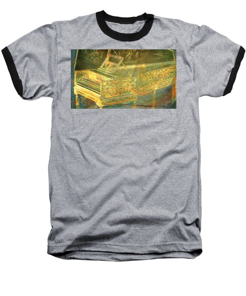 Baseball T-Shirt featuring the mixed media Past To Present by Ally  White