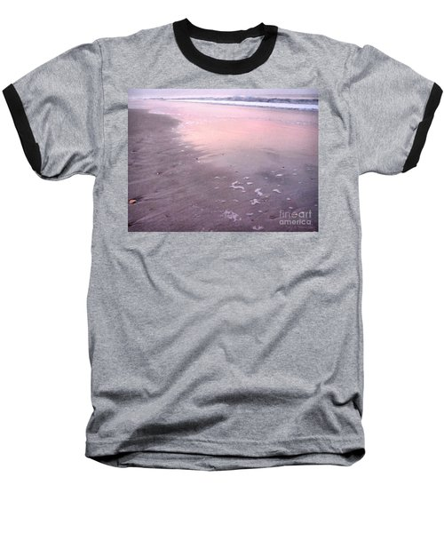Pastel Beach Baseball T-Shirt