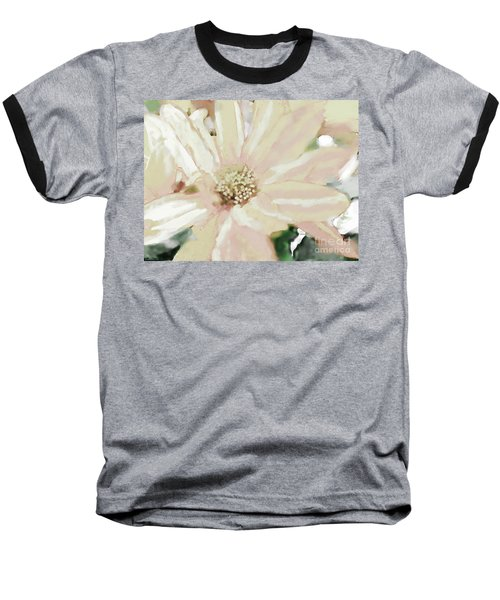 Pastel Daisy Photoart Baseball T-Shirt