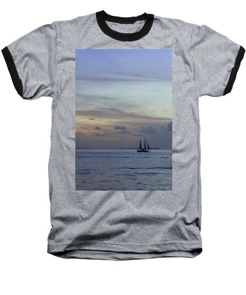 Baseball T-Shirt featuring the photograph Pastel Sky by Laurie Perry