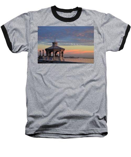 Pastel Sky Baseball T-Shirt