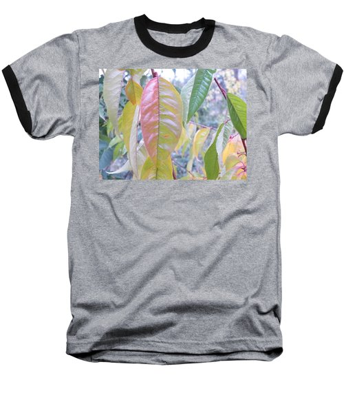 Pastel Symmetry  Baseball T-Shirt by Brian Boyle