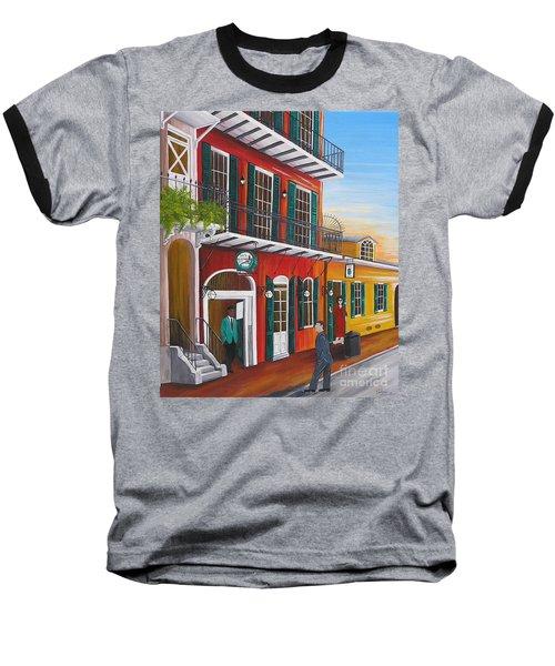 Pat O's Courtyard Entrance Baseball T-Shirt