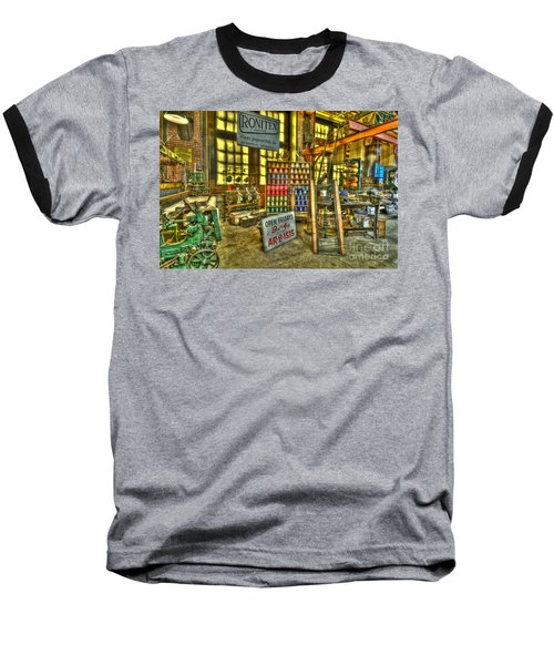 Paterson Silk Mill Baseball T-Shirt