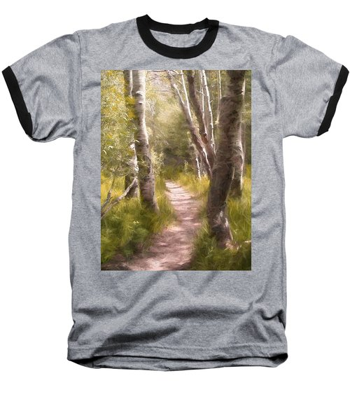 Baseball T-Shirt featuring the photograph Path 1 by Pamela Cooper