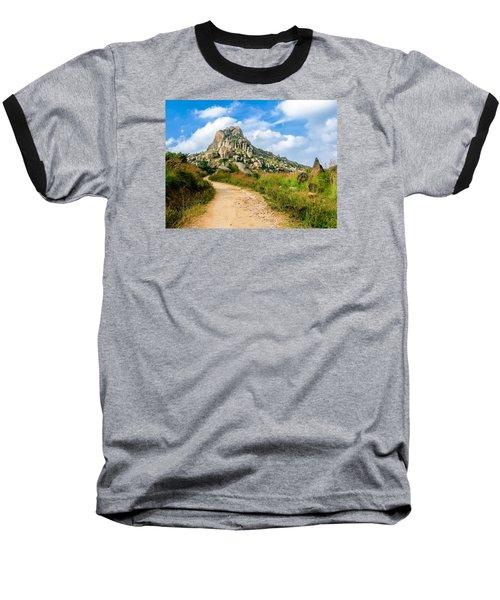 Path Into The Hills Baseball T-Shirt