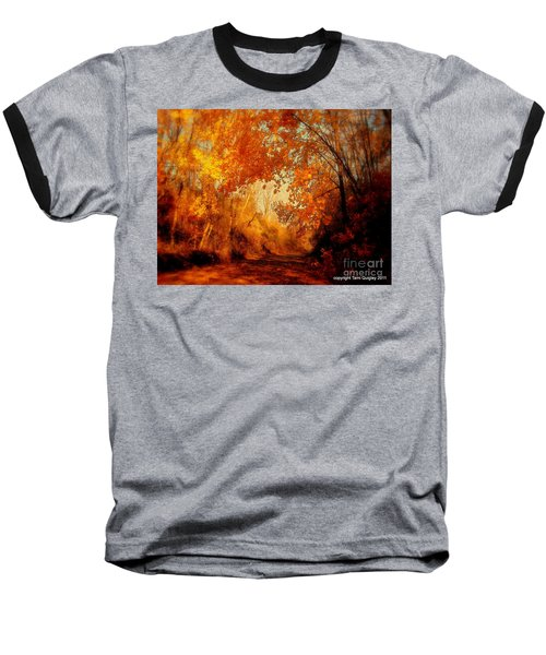 Path Of Gold Baseball T-Shirt