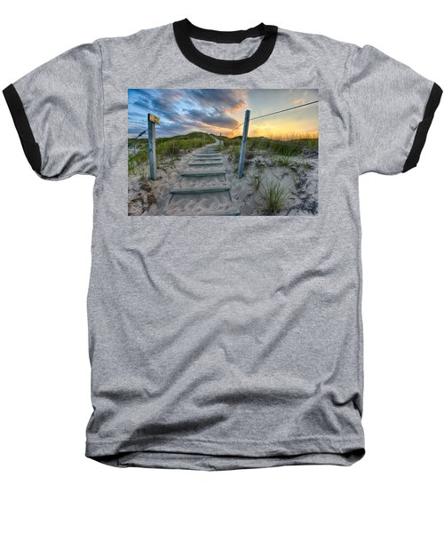 Path Over The Dunes Baseball T-Shirt