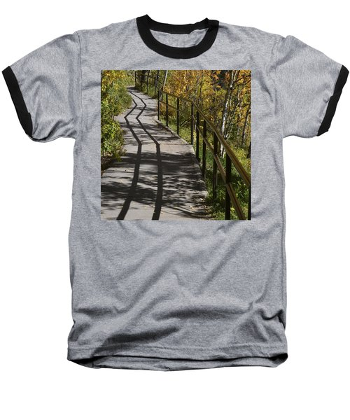 Path Shadow Baseball T-Shirt
