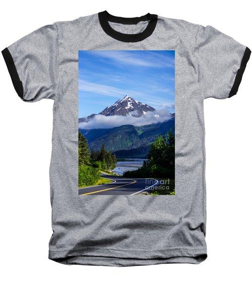 Path Through Alaska Baseball T-Shirt