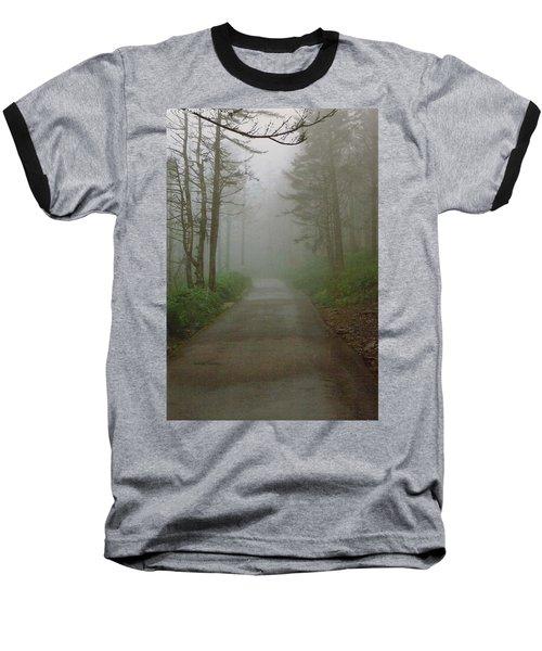 Path To Clingmans Dome Baseball T-Shirt by Karin Thue