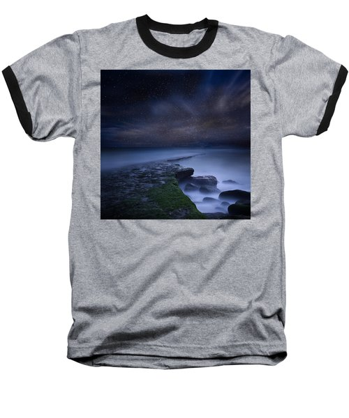 Path To Infinity Baseball T-Shirt by Jorge Maia