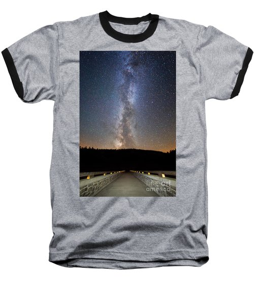 Path To Our Galaxy   Baseball T-Shirt