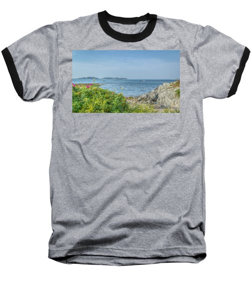Baseball T-Shirt featuring the photograph Path To The Cove by Jane Luxton