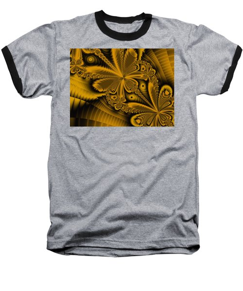 Baseball T-Shirt featuring the digital art Paths Of Possibility by Elizabeth McTaggart