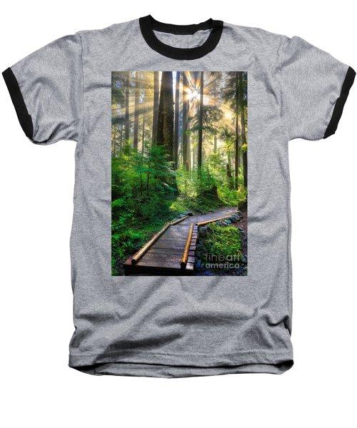 Pathway Into The Light Baseball T-Shirt