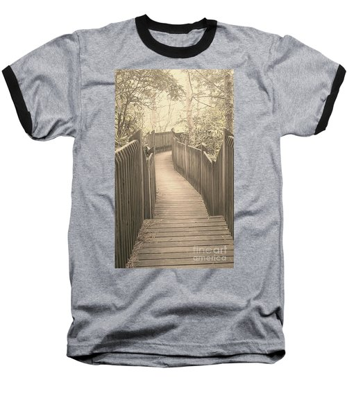 Pathway Baseball T-Shirt by Melissa Petrey
