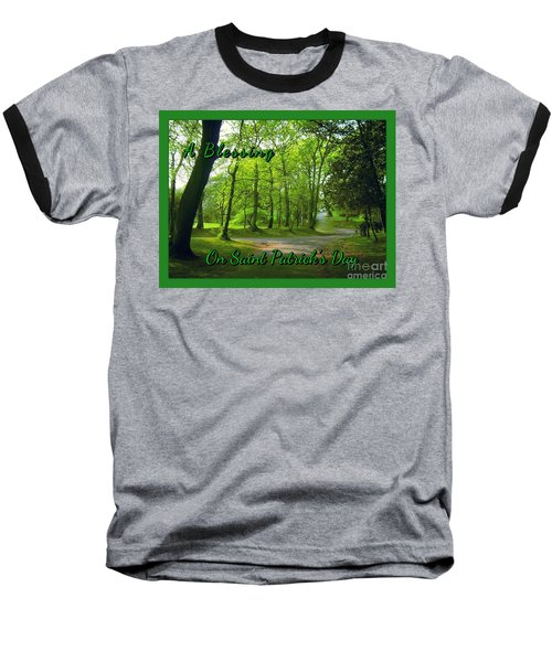 Pathway Saint Patrick's Day Greeting Baseball T-Shirt