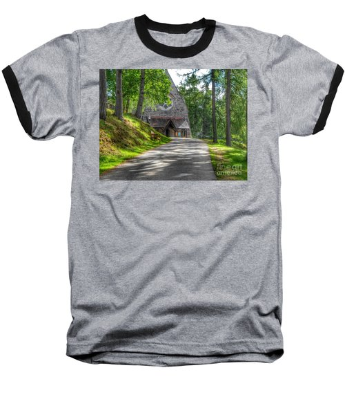 Pathway To Crathie Church Baseball T-Shirt